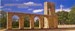 MEMORIAL AND TOWER PANORAMIC POSTCARD