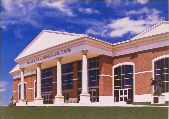 Mayborn Campus Center Postcard