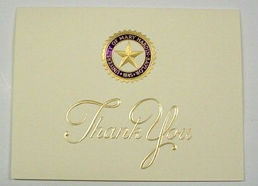 UMHB Thank You Cards