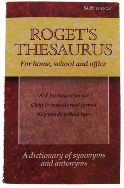 Roget's Thesaurus For Home, Schhol, And Office (SKU 1010291650)