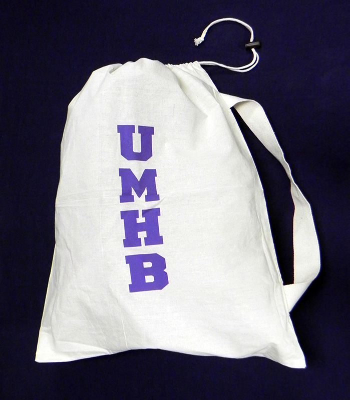 UMHB Cotton Laundry Bag (SKU 1018002023)