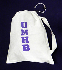 Umhb Cotton Laundry Bag