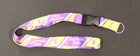 "1"" Sublimated Lanyard"