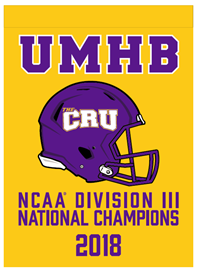 2018 National Champs Garden Flag