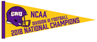 2018 National Champs Pennant