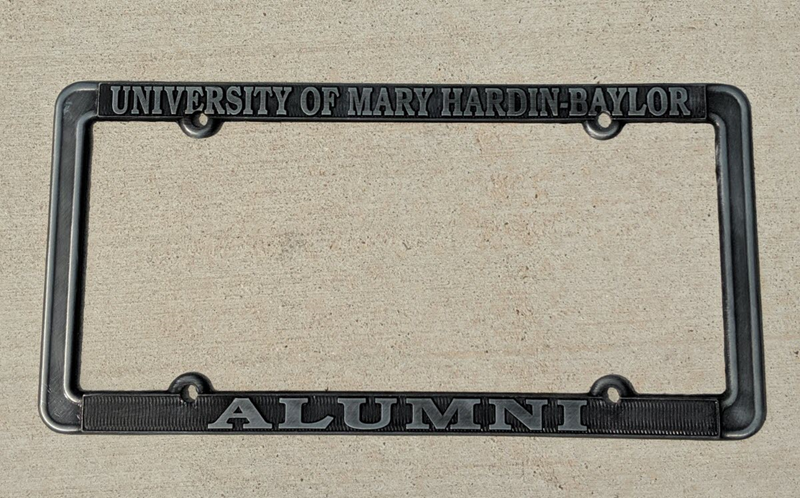 Alumni Pewter Metal License Plate Frame (SKU 1035552734)