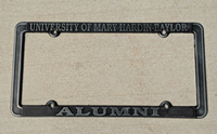 Alumni Pewter Metal License Plate Frame
