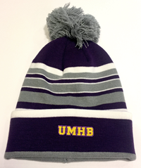 Bradshaw Striped Knit Pom Hat