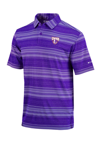 Columbia Omni-Wick Slide Polo Purple