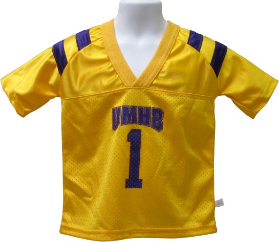 Dazzle Gold Football Jersey