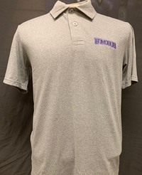 Mens Heather Lux Polo