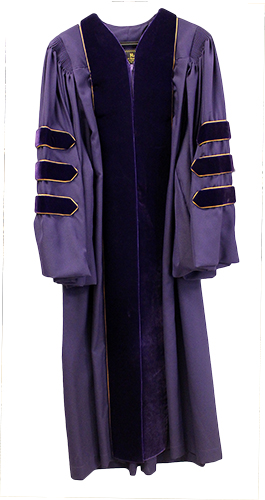 Rent UMHB Doctoral Gown (SKU 1015001663)