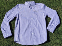 Soar Windowpane Check L/S Mens Shirt