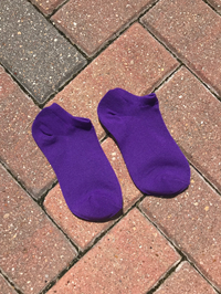 Socks-Tck Single Pair Purple