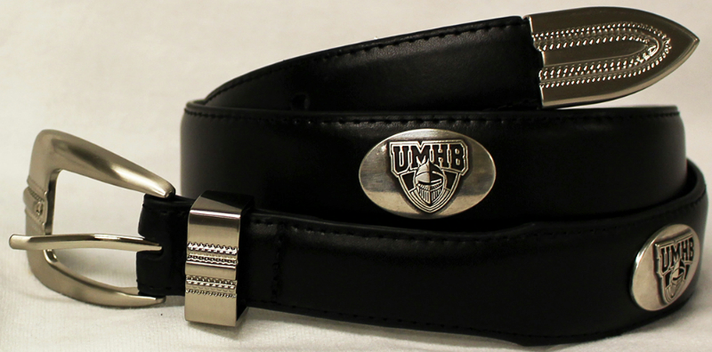 UMHB Concho Belt in Black
