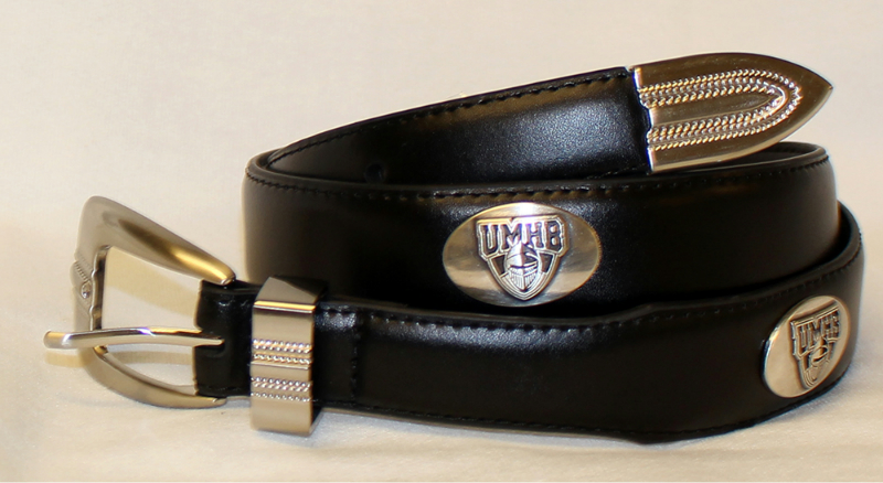 Umhb Concho Belt In Brown