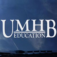 UMHB Education Decal