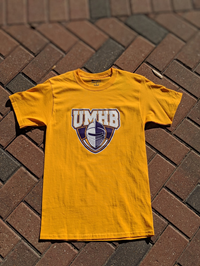 UMHB Official Logo S/S Tee Gold