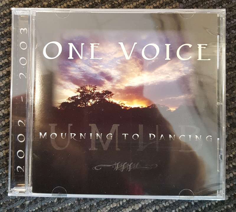UMHB One Voice CD May 2002-2003