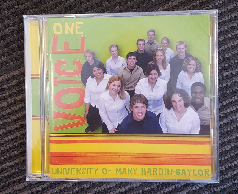UMHB One Voice CD May 2003-2005