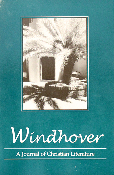 Windhover A Journal Of Christian Literature  2006 (SKU 1006352179)