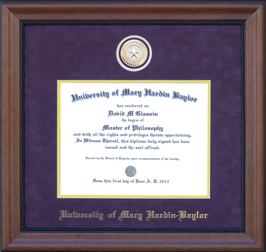 A New Coin Diploma Frame (SKU 101683258)