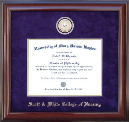 A Nurse New Coin Diploma Frame
