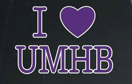 I Heart Umhb Decal
