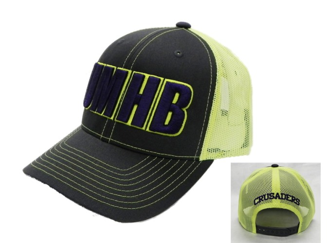 Twill Mesh Snap Back Neon
